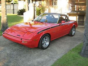 1984 Mazda RX7 Series2 CONVERTIBLE $15,000 Ashmore Gold Coast City Preview