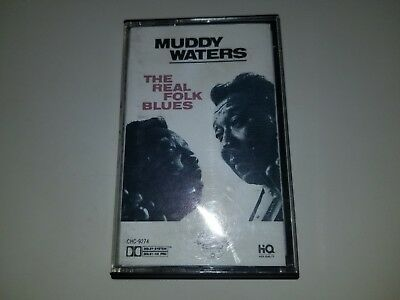 MUDDY WATERS - THE REAL FOLK BLUES - CHESS 9274 - CASSETTE TAPE