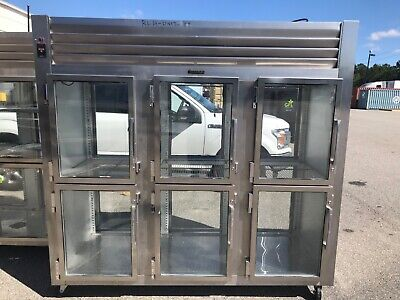 Traulsen Commercial Glass Door Cooler Refrigerator Was 26k New