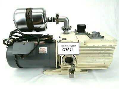 Trivac D16a Leybold-heraeus 89583 Rotary Vane Vacuum Pump Used Tested Working