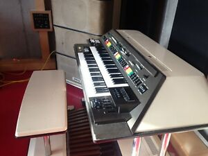 Yamaha Electone EX-2 synth/organ with cabinet
