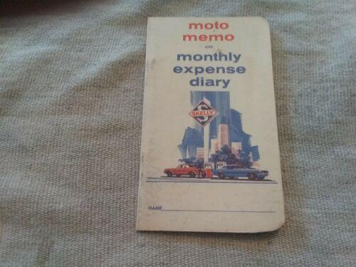 Vintage Original Skelly Moto Memo Diary Booklet  1950s Advertising UNUSED