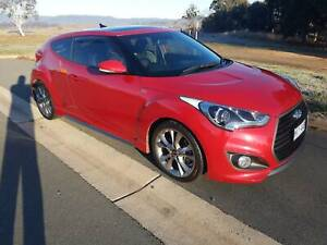 2015 Hyundai Veloster Sr Turbo 6 Sp Automatic 3d Coupe