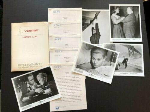 Vertigo (1983) - Original Movie Press Kit w/Photos & Press News Sheets
