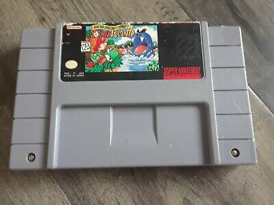Super Mario World 2: Yoshi's Island (SNES, 1995) *AUTHENTIC & WORKING CARTRIDGE*