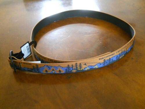 BOY SCOUTS NATIONAL CAMPING SCHOOL BISON BELT, MEDIUM/LARGE (NEW WITH TAGS)