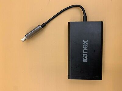 Kanex Thunderbolt to Gigabit Ethernet + USB 3.0 Adapter