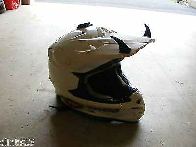 motorcycles dirt bikes atv helmet kids 3M peel stick rubber shark fins mohawks