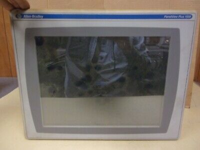 Allen Bradley 2711p-rp9d With 2711p-rdt15c Panel View Plus 1500 C
