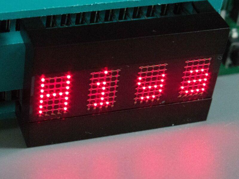 "OSRAM DLR 3416 Vintage LED Intelligent Display 4 Digit Alphanumeric 0.27"" 5V Red"