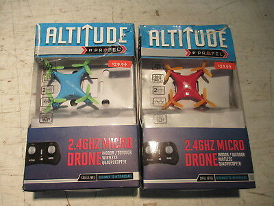 Altitude 2.4ghz Micro Drone Indoor/outdoor Wireless Quadrocopter