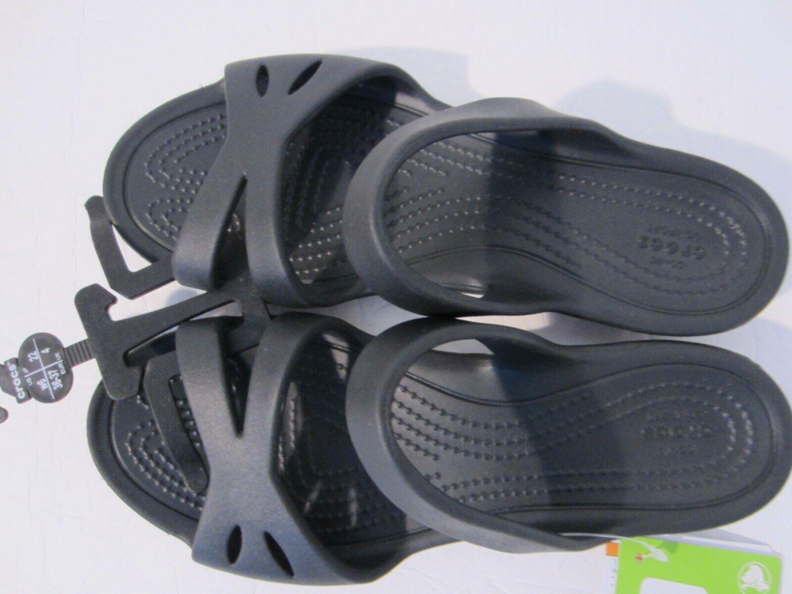 Crocs Womens Kelli Sandals Black - Free US Shipping NWT   203991-001