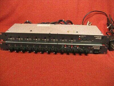 Biamp Advantage One  8 Microphone Mixer + Advantage AG II Priority Gate  Cables -