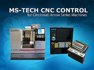 Cincinnati Milacron Arrow 500750 Machine Acramatic 2100 Cnc Retrofit Package