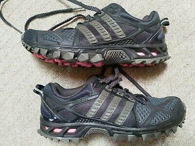 adidas - Kanadia Trail 6 - Women's Trainers/Running - Black/Grey - UK Size 4