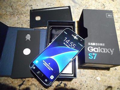 NEW Samsung Galaxy S7 SM-G930V 32GB BLACK VERIZON ATT FACTORY UNLOCKED