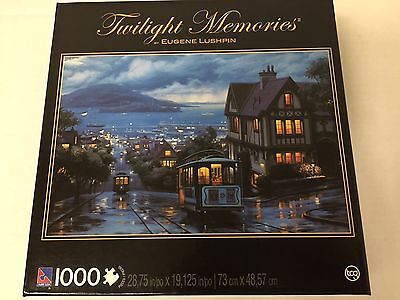 Twilight Memories San Francisco Old Cable Car Jigsaw Puzzle  1000 Piece
