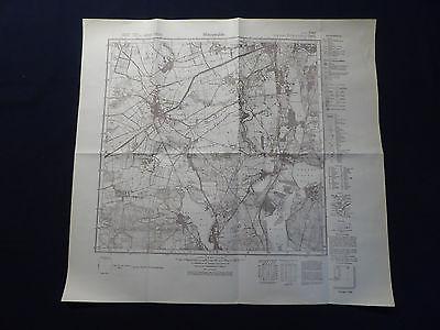 Landkarte Meßtischblatt 3747 Mittenwalde, Bestensee, Kallinchen, Motzen, 1937