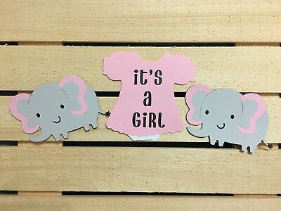 Baby Girl  Shower Elephant Theme (Girl Elephant Baby Shower)