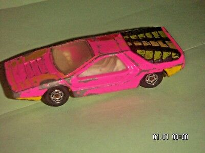 MATCHBOX SERIES 1970 No.75 Alpha Carabo PINK M.I.ENGLAND By LESNEY PRODUCTS - $6.95