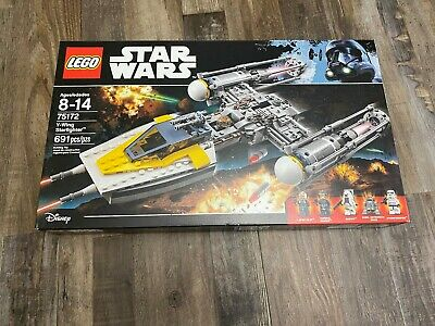Lego Star Wars 75172 Y-Wing Starfighter Retired Set MISB