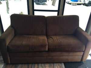 Love seat sofa couch bed twin