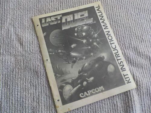 Capcom Last Duel Kit Instruction Manual
