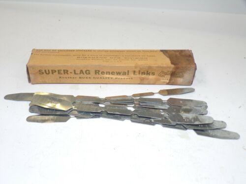 BUSSMAN, SUPER-LAG RENEWAL LINKS, LKS 15, 20 COUNT, 600V, 15 A,