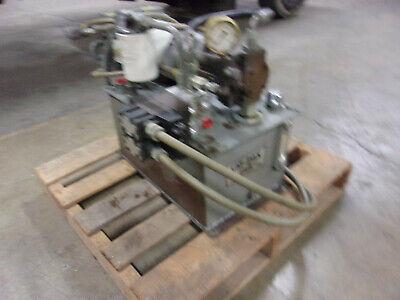 Parker Em-pak Hydraulic Power Unit 10 Gal.