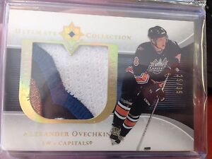 2005-06 Ultimate Collection Ovechkin Rookie Patches