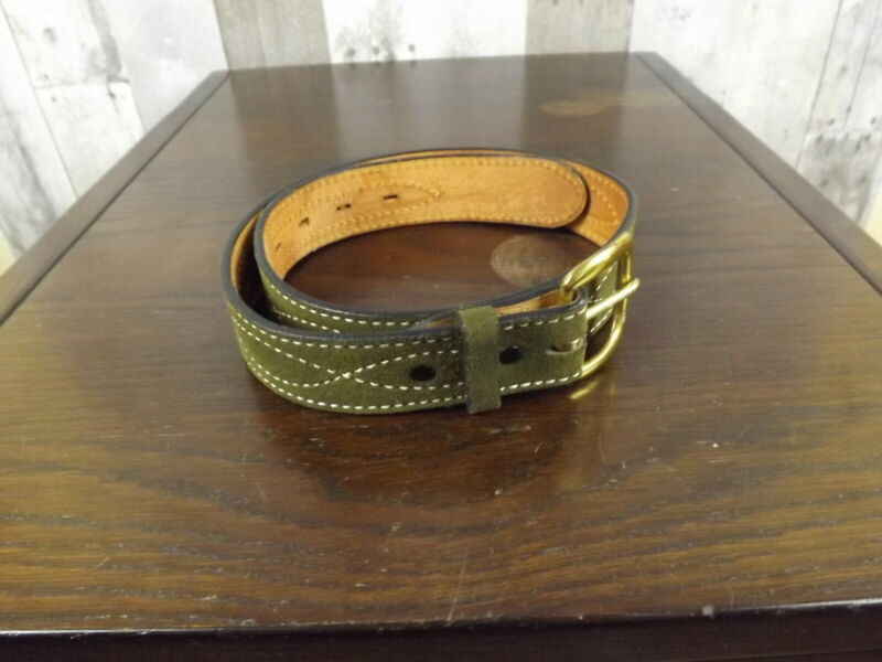 Tony Lama Leather Western Belt Size 28 ~EUC~