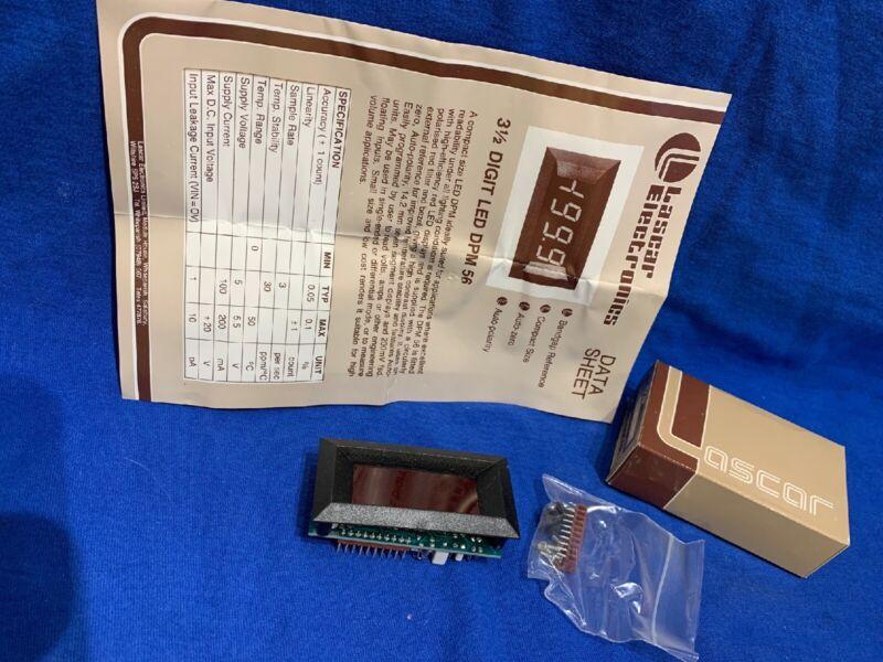 Vintage Lascar Electronics Digital Digit LED 3.5 Display DPM 56