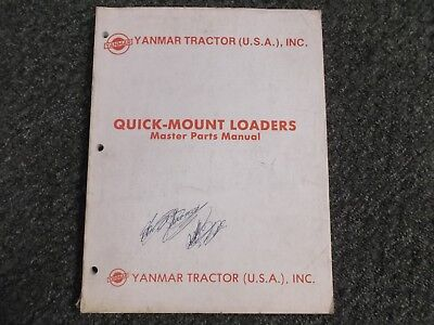 Yanmar Tractor Yfd 200 Yfl 575 580 650 675 800 875 Loader Parts Catalog Manual