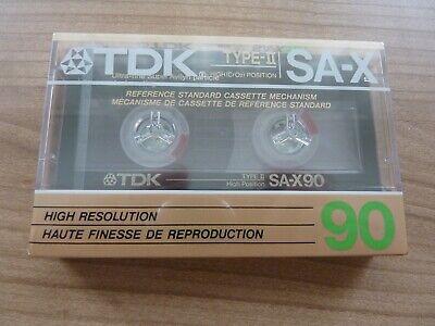TDK SA-X 90 audiokassette cassette audio tape sealed