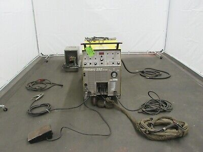 Esab Heliarc 252 Acdc Tig Welder Id W-036
