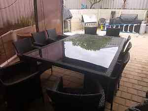 Portman 10 seater outdoor setting Clarkson Wanneroo Area Preview