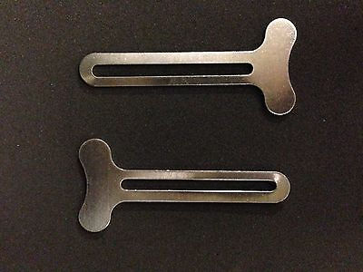 2 KEY TUBE SQUEEZERS PAINT HAIRDRESSING TOOTHPASTE SAVER BEAUTY SALON TINTING