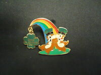 ST PATRICK/'S DAY CHIP /& DALE pot of gold rainbow Disney WDI Cast LE Pin
