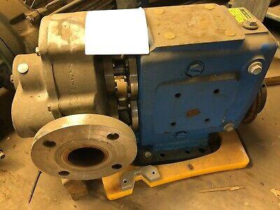 Waukesha 2.5 5060 Positive Displacement Pump W15 Hp Motor Gearbox Item 71