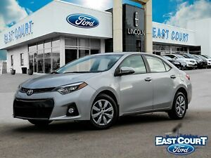 2016 Toyota Corolla S, projector lamp, backup cam, heated seat,
