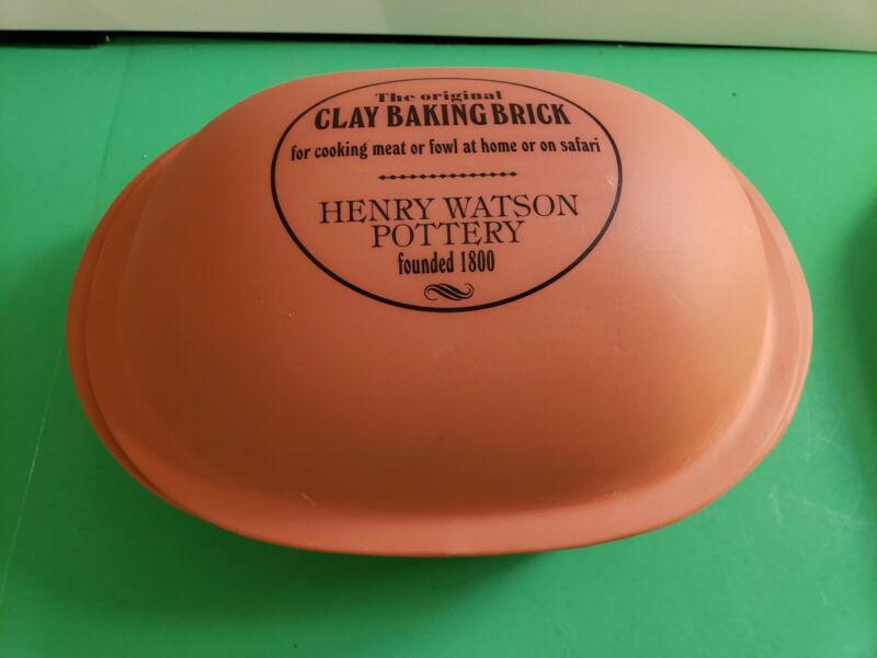 NEW Original Clay Baking Brick by Henry Watson Pottery Camping Hunting Safari