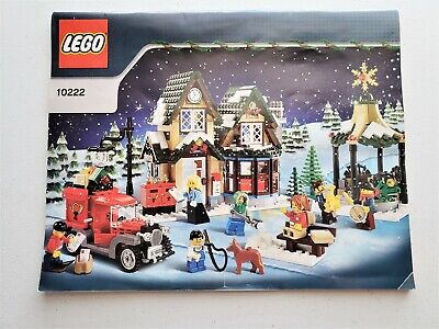 LEGO 10222 Winter Village Post Office Instructions ONLY Christmas Holiday