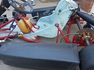 Go kart Arrow frame and engine and junior frame Bracken Ridge Brisbane North East Preview