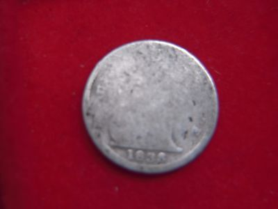1838 VICTORIAN  SILVER FOURPENCE [FILLER]  FROM MY COLLECTION [J35]