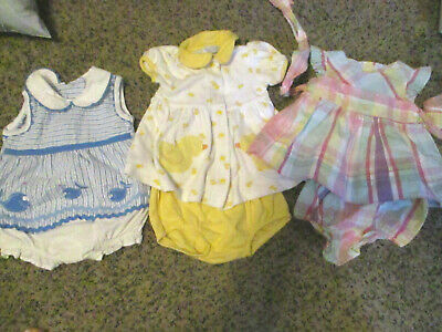 newborn baby girl clothes 0-3 months lot-CHAPS-CARTER