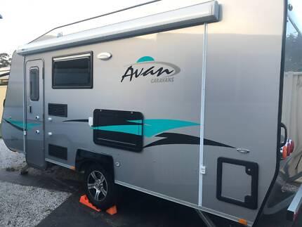 AVAN 499 Aspire w/bunks, en-suite, full annex, air con etx shower Orange Orange Area Preview