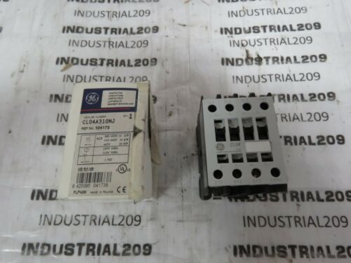GENERAL ELECTRIC CONTACTOR CL04A310M NEW IN BOX