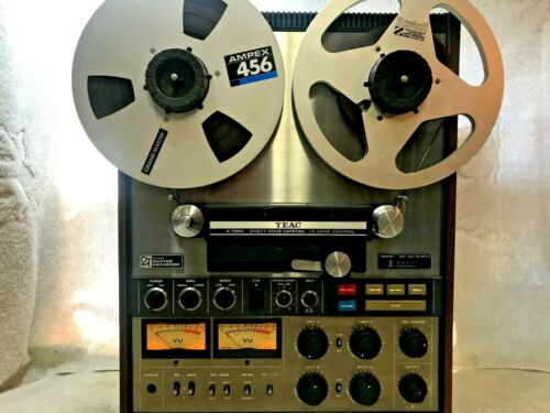 TEAC A-7300 TWO TRACK HIGH SPEED TAPE DECK REEL-TO-REEL - FROM A COLLECTOR !