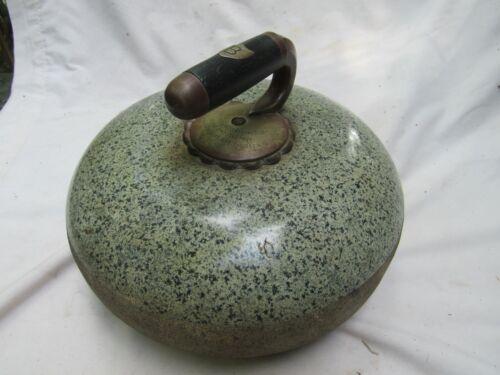 Vintage Antique Curling Stone RanFurly Castle Curl Club George Candlish