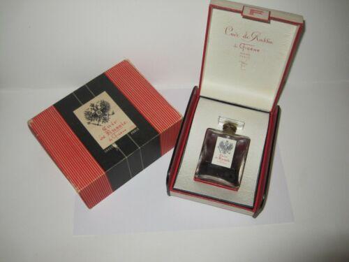 Cuir De Russie De Figene Grasse Vintage Sealed Parfum / Antique Perfume Bottle